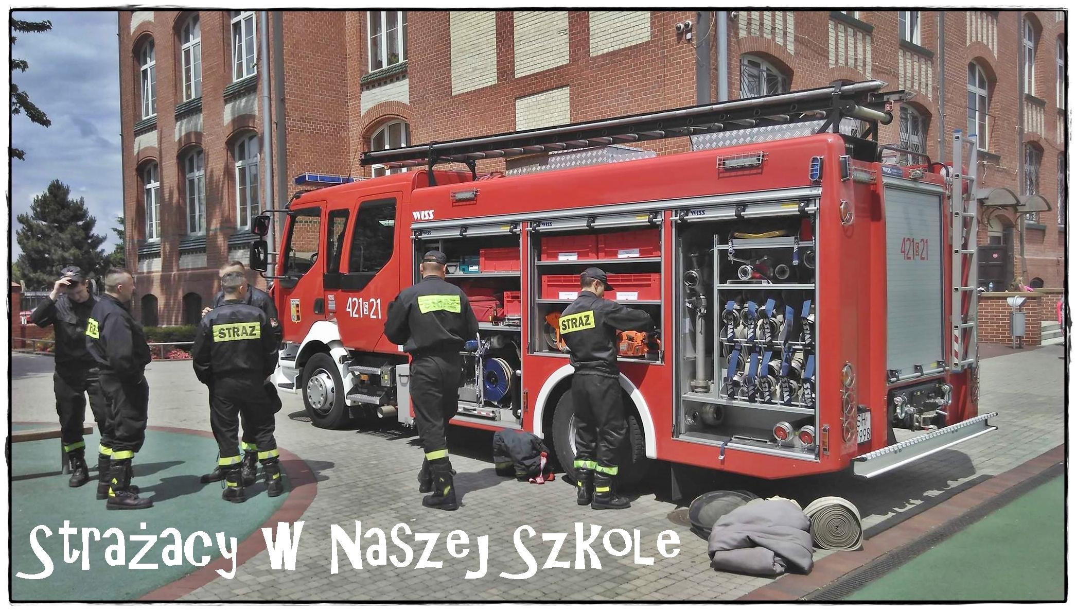 Strażacy wNaszej Szkole