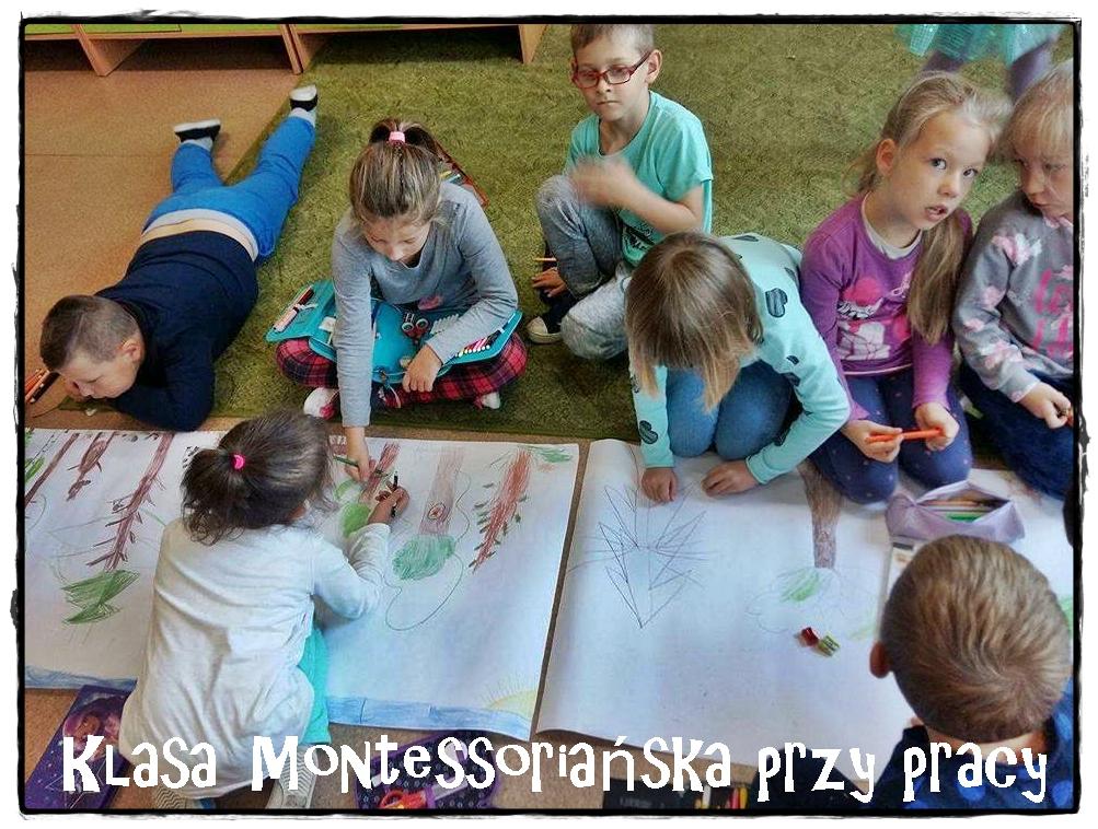 Klasa Montessoriańska Przy Wspólnej Pracy