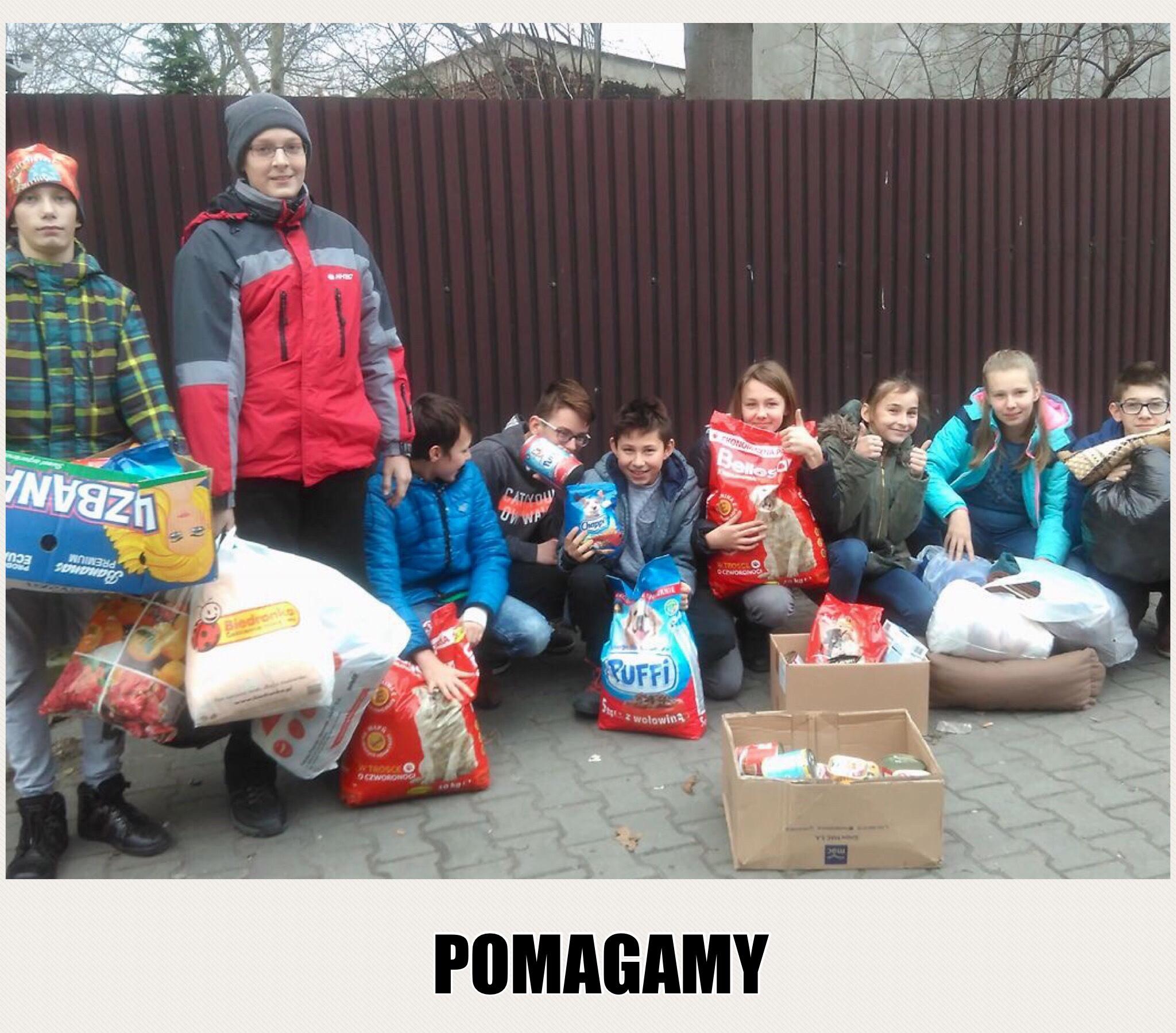 POMAGAMY – Szkolne Koło Wolontariatu