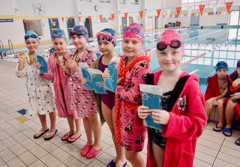 Mikołajkowe zawody pływackie 2019
